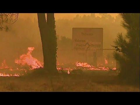 Πορτογαλία: Ανεξέλεγκτες πυρκαγιές με πάνω από 35 εστίες
