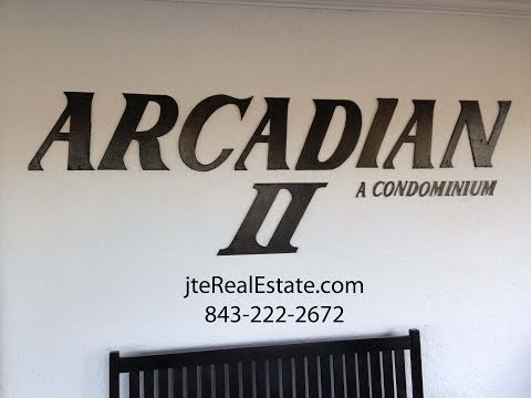 Arcadian II Myrtle Beach Condo For Sale