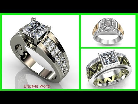 TOP 30 Mens Diamond Ring Design 2018 | Rings & Finger Symbolism