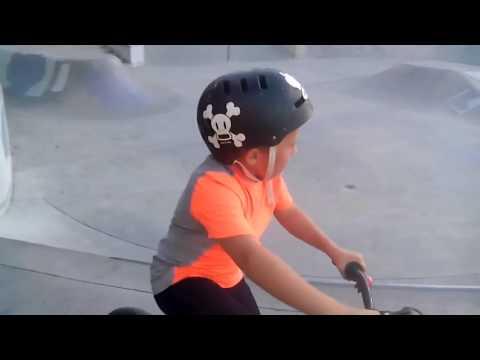 Alex and his BMX