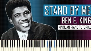 Piano Tutorial: Learn how to play BEN E. KING - STAND BY ME on piano. • Sheet music: http://bit.ly/MarijanPianoSheets  More ...