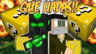 QUE LIADAS!! - Willyrex vs sTaXx - Carrera épica  Lucky Blocks - MINECRAFT