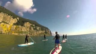 Travesía en paddle surf al faro del Caballo de Santoña