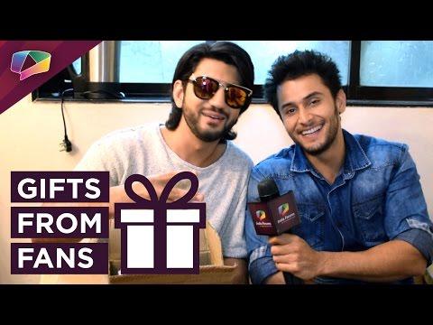 Kunal Jaisingh and Leenesh Mattoo receive gifts fr