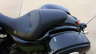 8. 2018 Kawasaki Vulcan 1700 Vaquero in Metallic Spark Black Overview and Review