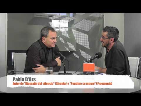 Entrevista a Pablo d'Ors, autor de 'Sendino se muere'