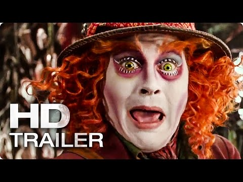 Alice Through the Looking Glass Official Trailer (2016)