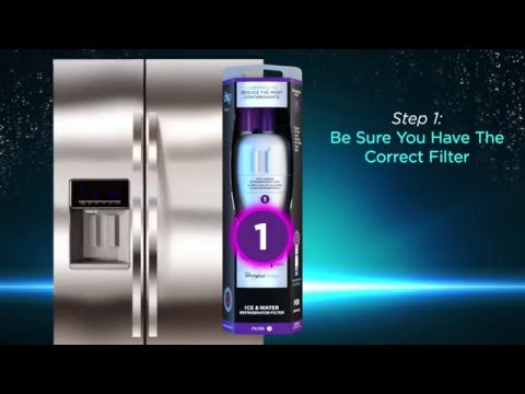 How to Install EveryDrop™ Ice & Water Refrigerator Filter 1