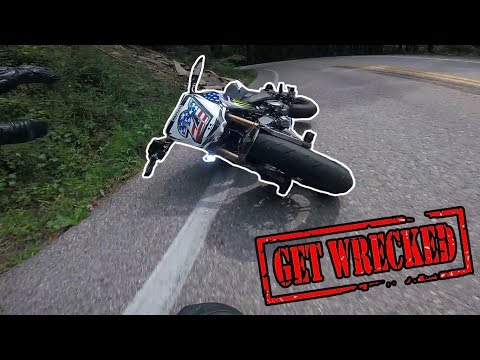 Tail of the Dragon Crash | z125