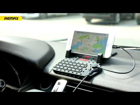 Remax Flexible Dash Board Car Holder with Charging Output