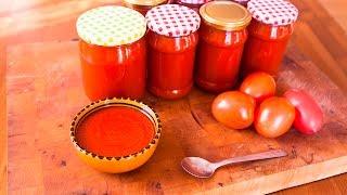 Zelfgemaakte ketchup