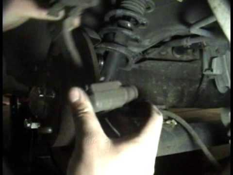 1995-2003 Nissan Maxima: Rear brake pad/rotor replacement (outdated)