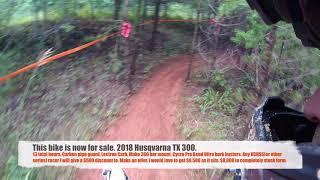 9. 2018 Husqvarna TX300 - AMA East - VXCS - Round 6 - Vet C 30+ - Lake Sugar Tree