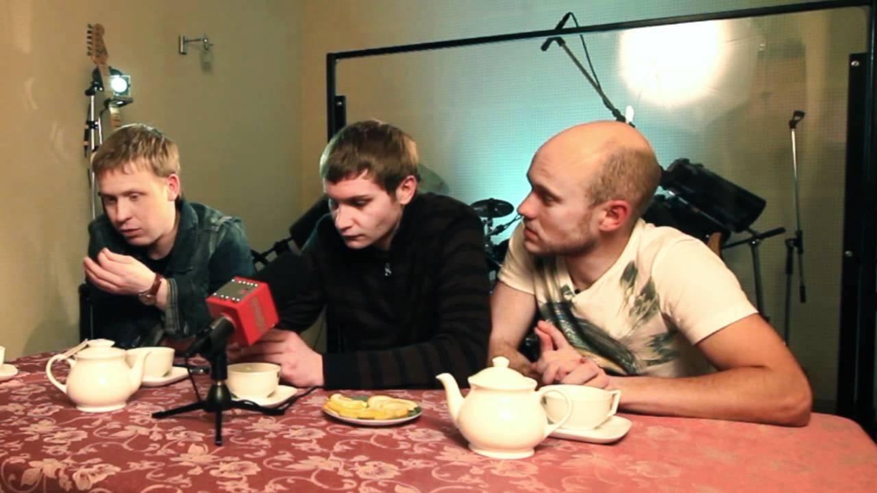 Интервью с актерами