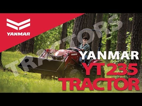 The Yanmar YT235 Compact Tractor - Yanmar Tractor