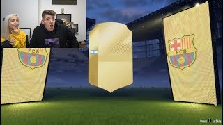 JUST WAIT for her LAST Pack.... 😱🔥 (Fifa 18 Pack Opening)