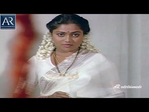 Shivude Shankarudu Movie Scenes | Saritha Love With Her Husband | AR Entertainments
