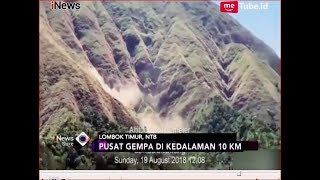 Video LAGI!! Gempa 6,5 SR Kembali Guncang Lombok, Bukit Sembalun Longsor - iNews Sore 19/08 MP3, 3GP, MP4, WEBM, AVI, FLV Maret 2019