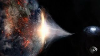 Black Hole - Collision with Earth