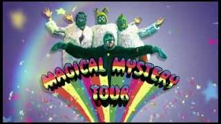 Roll up! Roll up! The Beatles invite you to make a reservation for the Magical Mystery Tour!