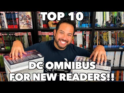 Top 10 DC Omnibus for New Readers!