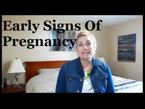 My Early Signs & Symptoms Of Pregnancy