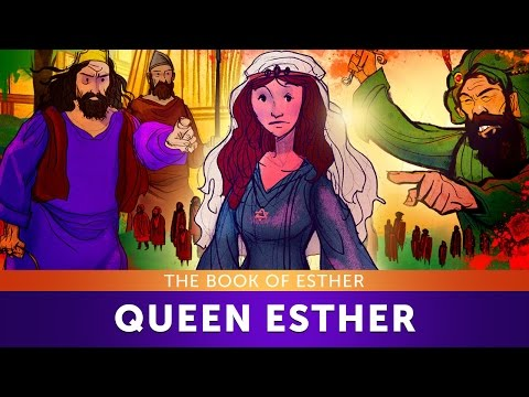 Sunday School Lesson for Children - Queen Esther - The Book of Esther - Kids Bible Story