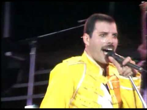 Queen - Under pressure (Live at Wembley) (видео)