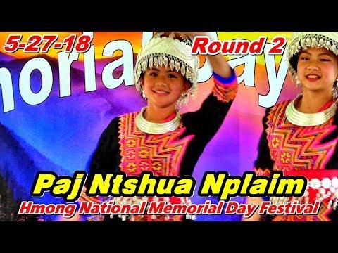 Paj Ntshua Nplaim R2 - Group A  @Oshkosh Memorial Day Festival, Oshkosh, WI (5-27-18) (видео)