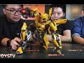TOYSTV S7 E12 P1C 3A Transformers The Last Knight Bumblebee Part 3 Unbox Threea