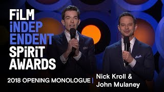 Nonton Nick Kroll And John Mulaney S Opening Monologue At The 2018 Film Independent Spirit Awards Film Subtitle Indonesia Streaming Movie Download