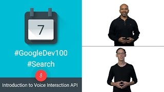 Introduction to Voice Interaction API (100 Days of Google Dev)
