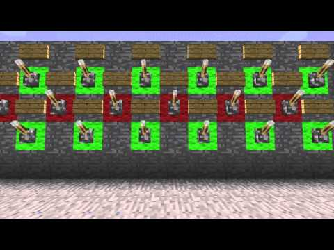 Minecraft: 20 Character Programmable Combination Lock