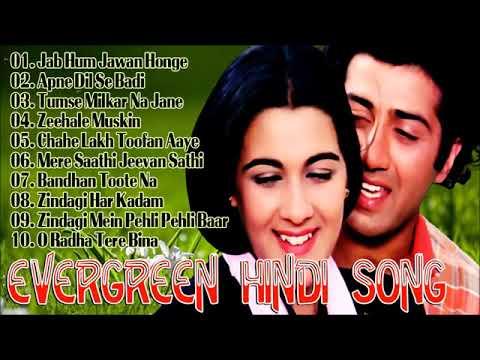 Evergreen Hindi Songs   Old Hindi Songs   Lata Mangeshkar Old Song   Bollywood Hit Songs