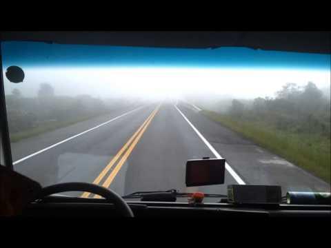 Viagem com neblina, Água Doce, São Bento do Sul SC