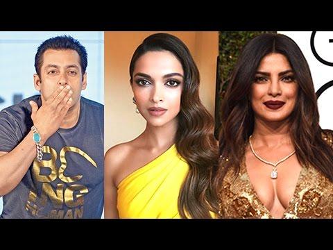 Deepika Padukone, Salman Khan, Priyanka Chopra BOL