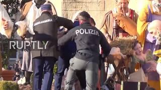 Забег FEMEN в Ватикане