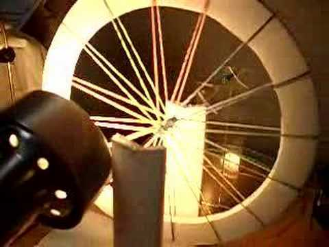 Rubber Band Heat Engine