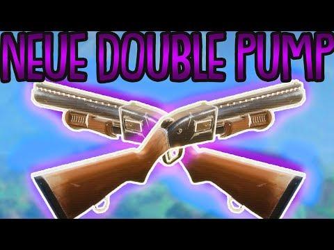 NEUER DOUBLE PUMPGUN TRICK!   Double Pump in Season 3   Fortnite Battle Royale