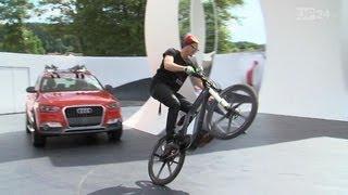 E-Bikes von Audi am Wörthersee