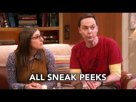 "The Big Bang Theory 12x02 All Sneak Peeks ""The Wedding Gift Wormhole"" (HD)"