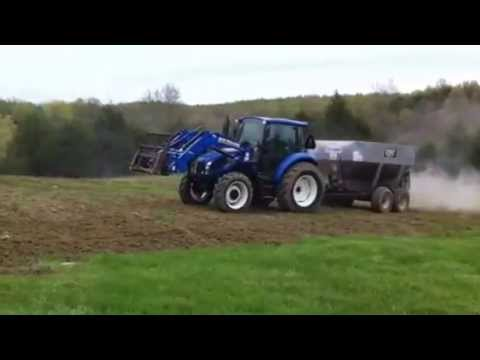 Liming the Food Plots