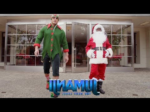 JUMANJI: THE NEXT LEVEL - Santa and The Dwelf... IN REVERSE!