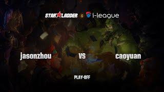 jasonzhou vs Caoyuan (草原), game 1