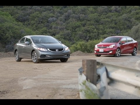 Best Cars for 20k: Honda Civic Vs Kia Rio — Edmunds.com