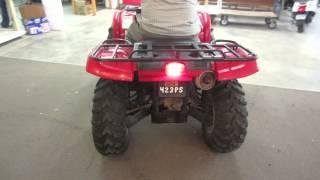 8. 2006 YAMAHA GRIZZLY 660 4X4 ATV