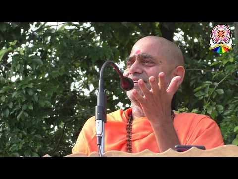 Divine speech of Pujyapad Sri Swamiji Maharaj