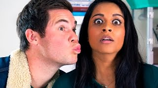 Video When A Brown Girl Dates A White Boy (ft. Adam Devine) MP3, 3GP, MP4, WEBM, AVI, FLV Agustus 2018