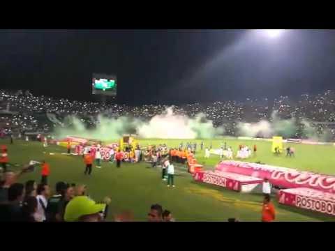 LOS DEL SUR LA MEJOR HINCHADA DE COLOMBIA 31/10/2015 - Los del Sur - Atlético Nacional