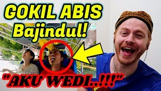 Gokil Abis Bajindul ASLI NGAKAK POL, Arek Jowo Di Korea (Reaction Video)